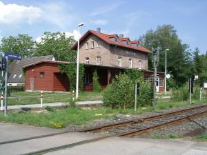 Bahnhof Langlau